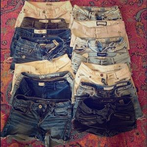 LOT OF SHORTS!!!!